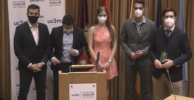 La Universidad Carlos III gana la octava edición de la Liga Española de Debate Universitario (LEDU)