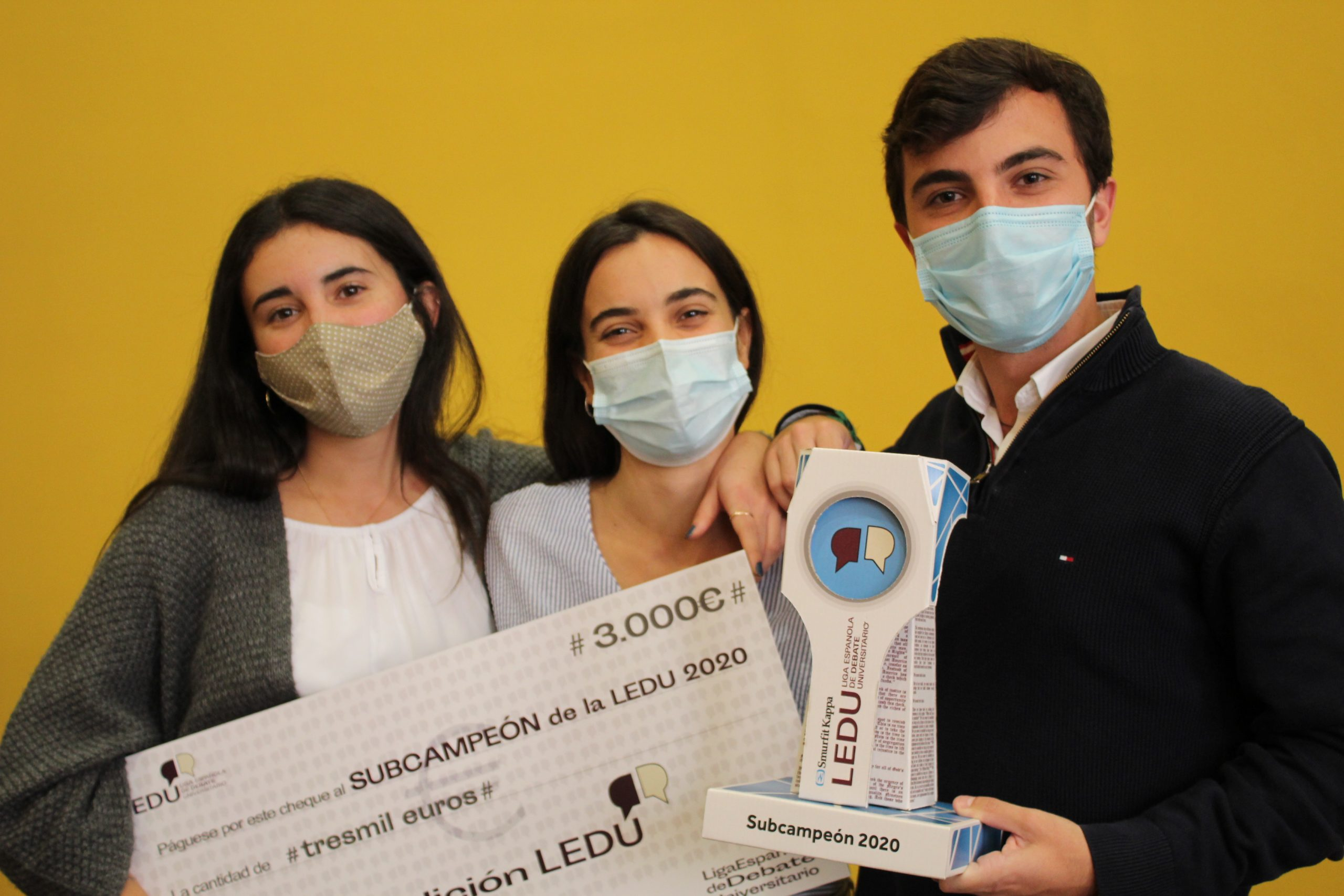 Universidad Zaragoza subcampeona Liga Española de Debate Universitario (LEDU)