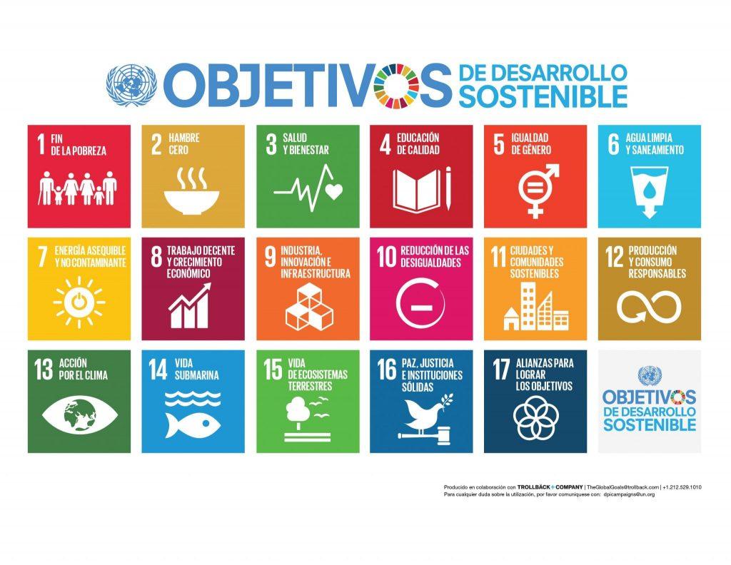 Objetivos de Desarrollo Sostenible ONU LEDU