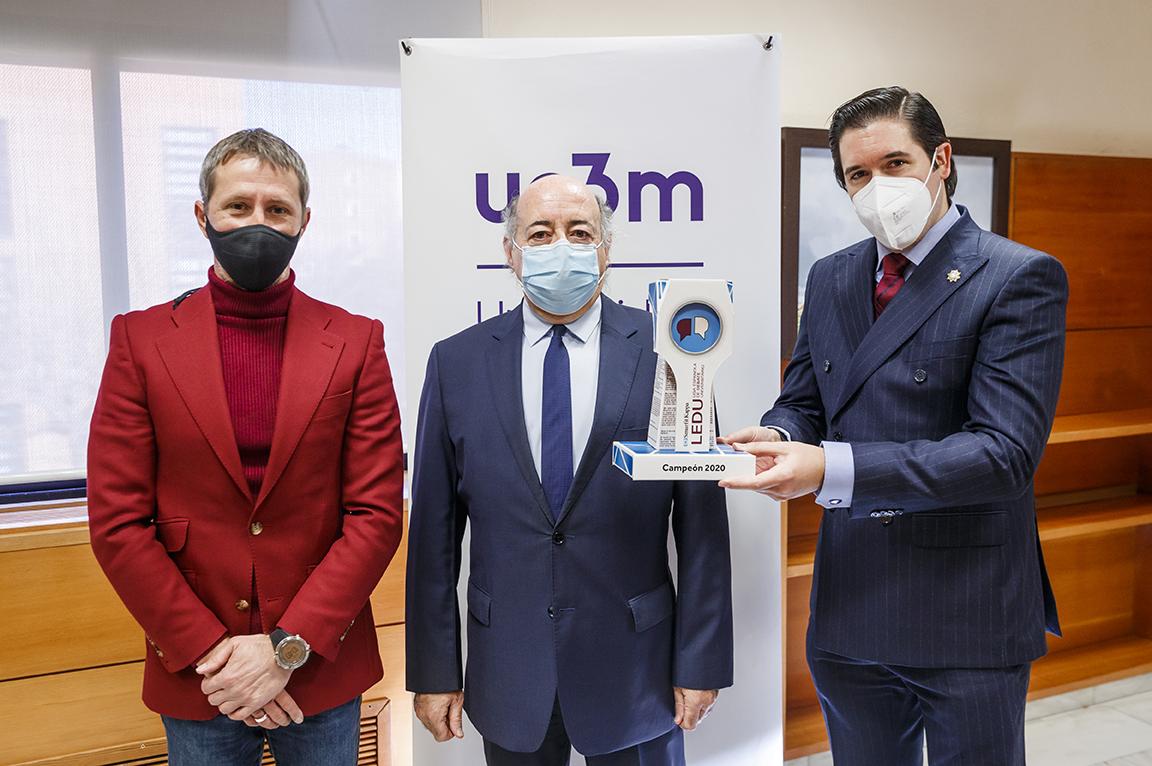 La Universidad Carlos III gana la LEDU