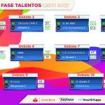 Resultados 27 F Fase Talentos Ledu
