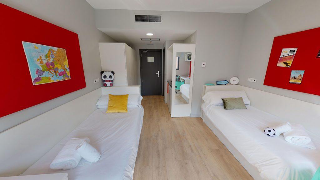 Nexo Residencias, alojamiento oficial de la LEDU