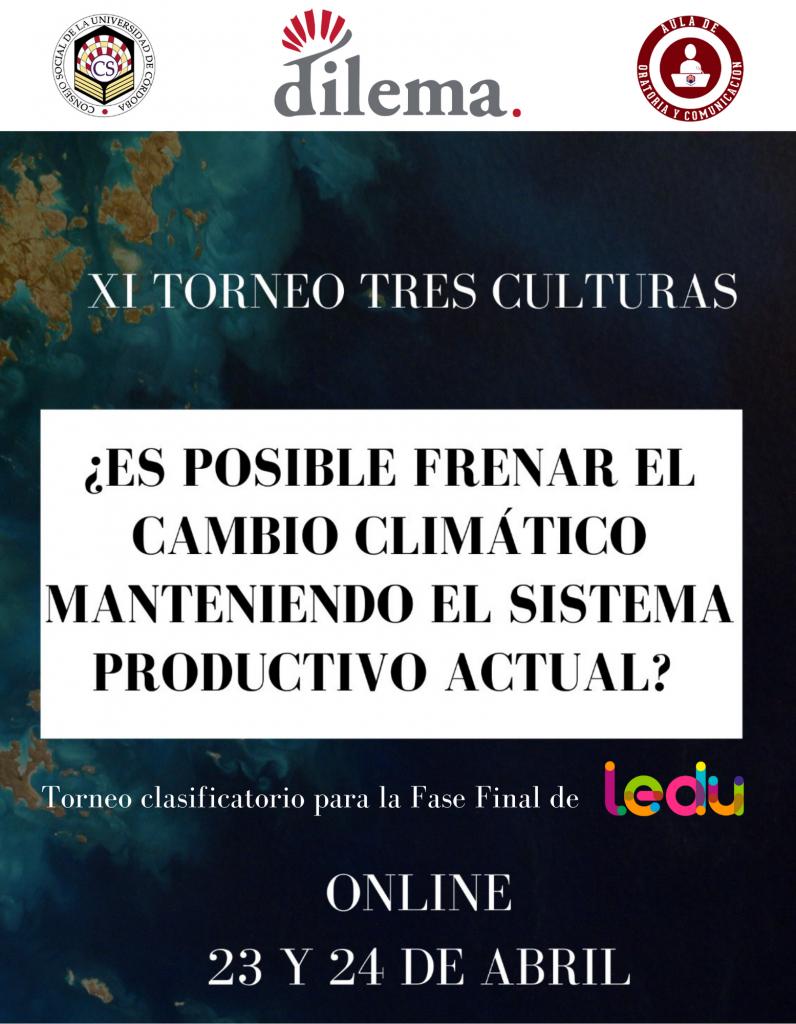 El Torneo Tres Culturas de Dilema, clasificatorio para la Liga Española de Debate Universitario (LEDU)