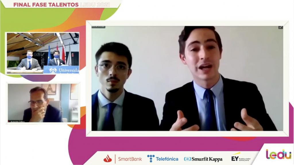 La Universidad Carlos III de Madrid gana la Fase Talentos de la Liga Española de Debate Universitario (LEDU)