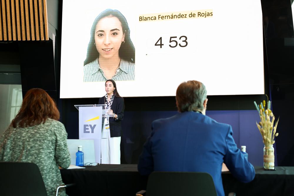 El madrileño Jesús Peláez Parra, vencedor de EY Voice